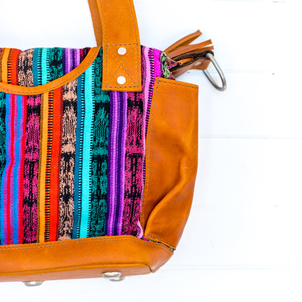 Artisanal Mini Convertible Bag - 056