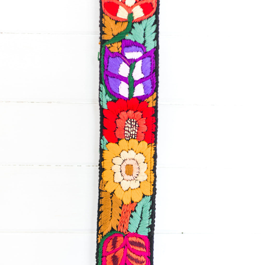 Newly Embroidered Strap - Meadow