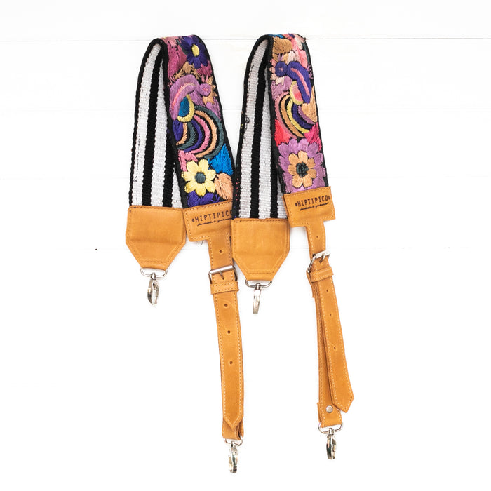 Vintage Embroidered Backpack Strap - 02099