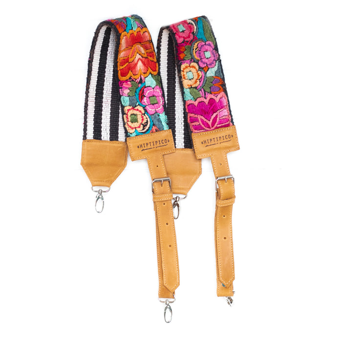 Hiptipico backpack straps, traditional guatemalan faja, handmade backpack straps, Hiptipico backpack straps