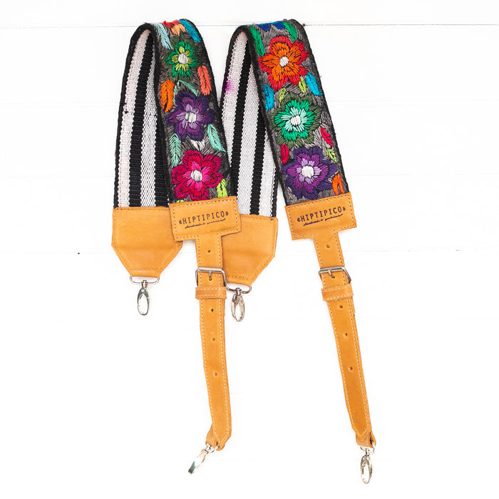 Vintage Embroidered Backpack Strap - 02108