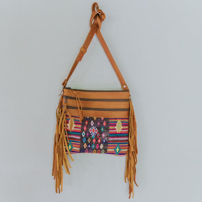 Hiptipico Leather Cross Body Huipil Purse, Hiptipico Bags, Hiptipico Leather Bags, Hiptipico Crossbody Bags, Textile Bags, Leather Crossbody Bags, Handmade Handbags, Free People Leather Bags,