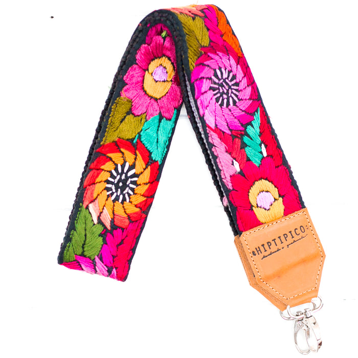 hiptipico camera strap, huipil camera strap, free people camera strap