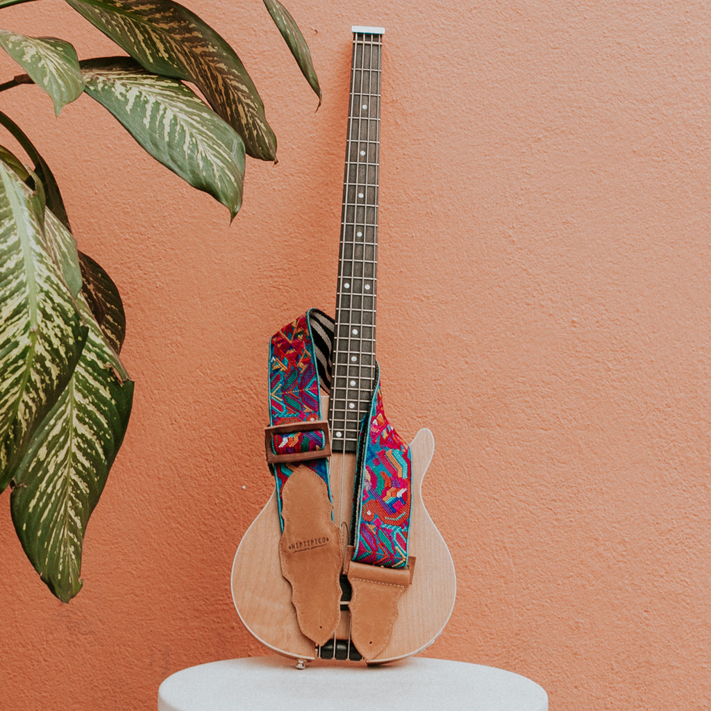 Custom Embroidered Guitar Strap