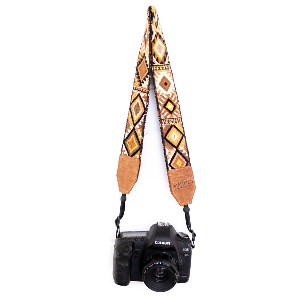 Newly Embroidered Camera Strap - Sedona