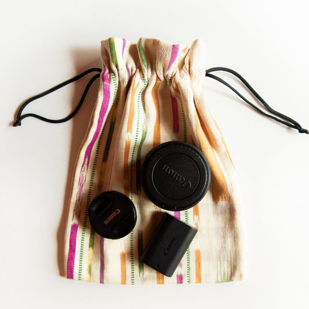 Zero Waste Dust Bag - Natural Tie Dye