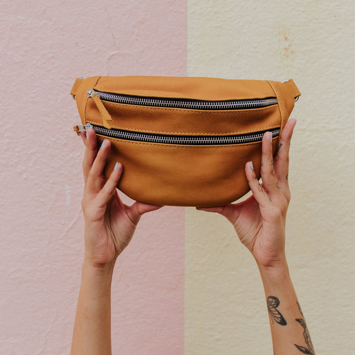 Harmony Sling Bag - Full Leather