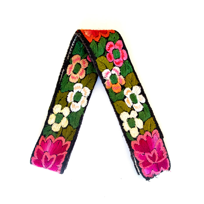 Vintage Embroidered Custom Strap - V0600