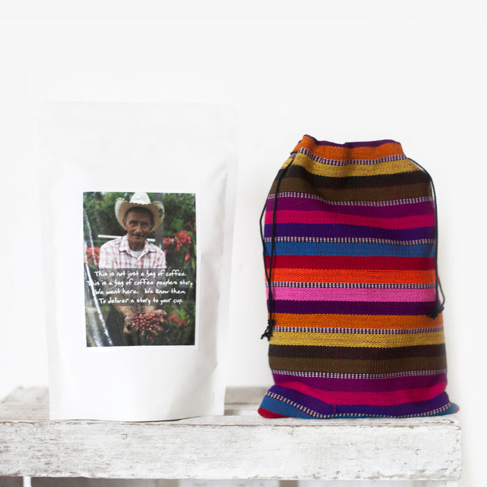 Cafe loco coffee, buy coffee online, fair trade coffee guatemala, shop guatemalan coffee, hiptipico coffee, roasted coffee beans, fair trade gift ideas