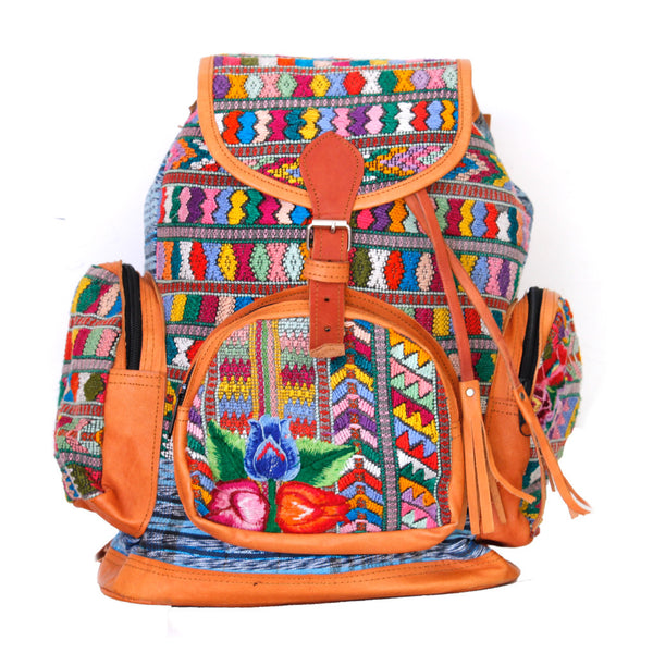 Hiptipico Maya Textile Backpack, Hiptipico Wanderlust Backpack, Hiptipico Woven Textile Embroidered Backpack, Boho Backpacks for Women, Free People Bohemian Carpet Textile Woven Backpack, Boho Multicolored Woven Backpacks Handmade from Vintage Textiles