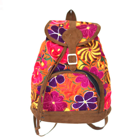 Whether your style is bohemian leather fringe, or colorful patchwork, Hiptipico has the backpack for you!