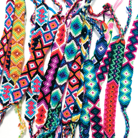 Assorted Friendship Bracelets