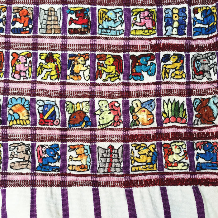 Embroidered Huipil: Santiago