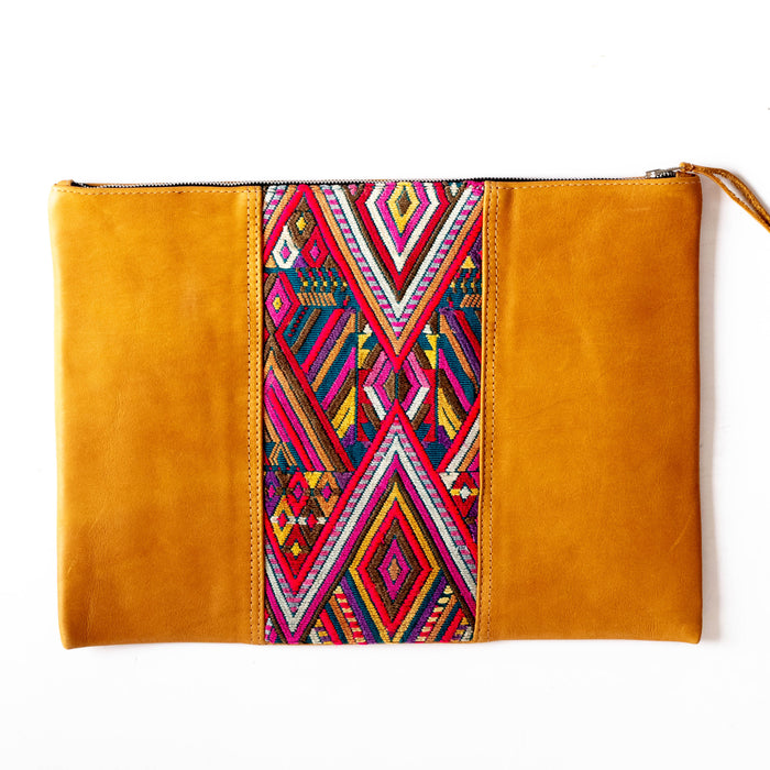 Hiptipico Laptop Cases, Leather Laptop Cases, Embroidered Laptop Cases, Zero Waste LaptopCases, Sustainable Leather Cases, Hiptipico Accessories,