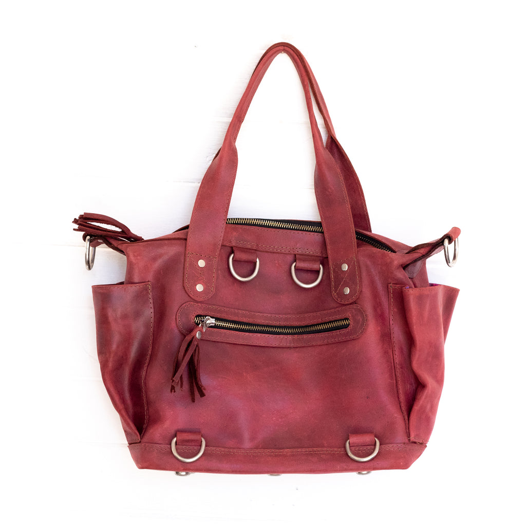 Renegade Convertible Bag - Ruby