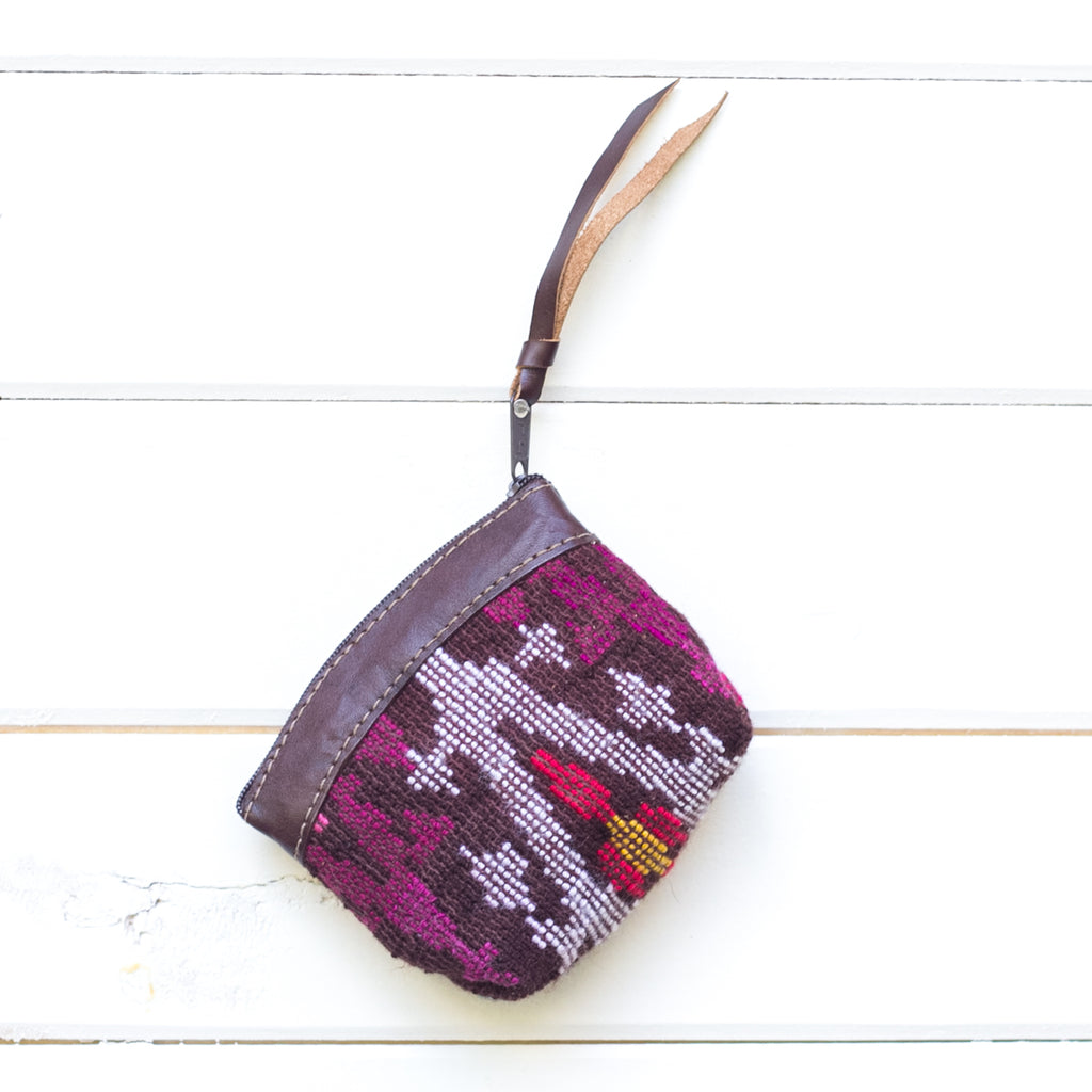 Artisanal Travel Coin Pouch - 017 Oso