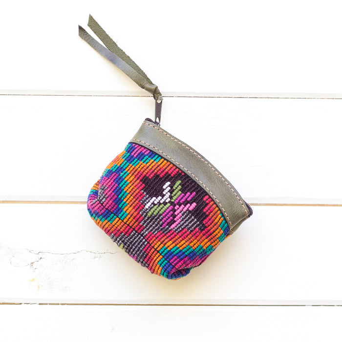 Artisanal Travel Coin Pouch - 016 Ixi