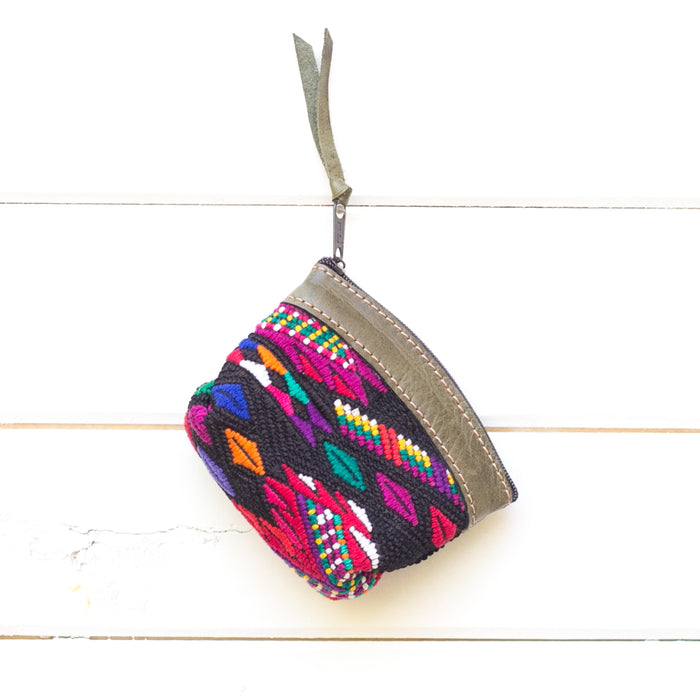 Artisanal Travel Coin Pouch - 015 Jamaica