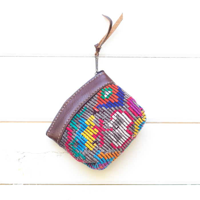 Artisanal Travel Coin Pouch - 014 Chimi