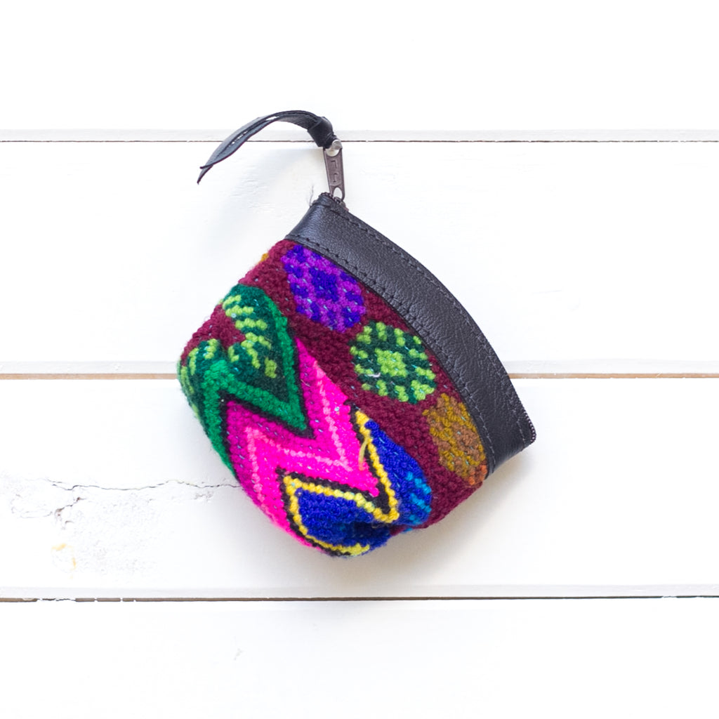 Artisanal Travel Coin Pouch - 019 Dulce