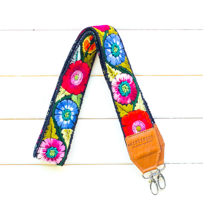 Chontalá Embroidered Strap - Pitaya