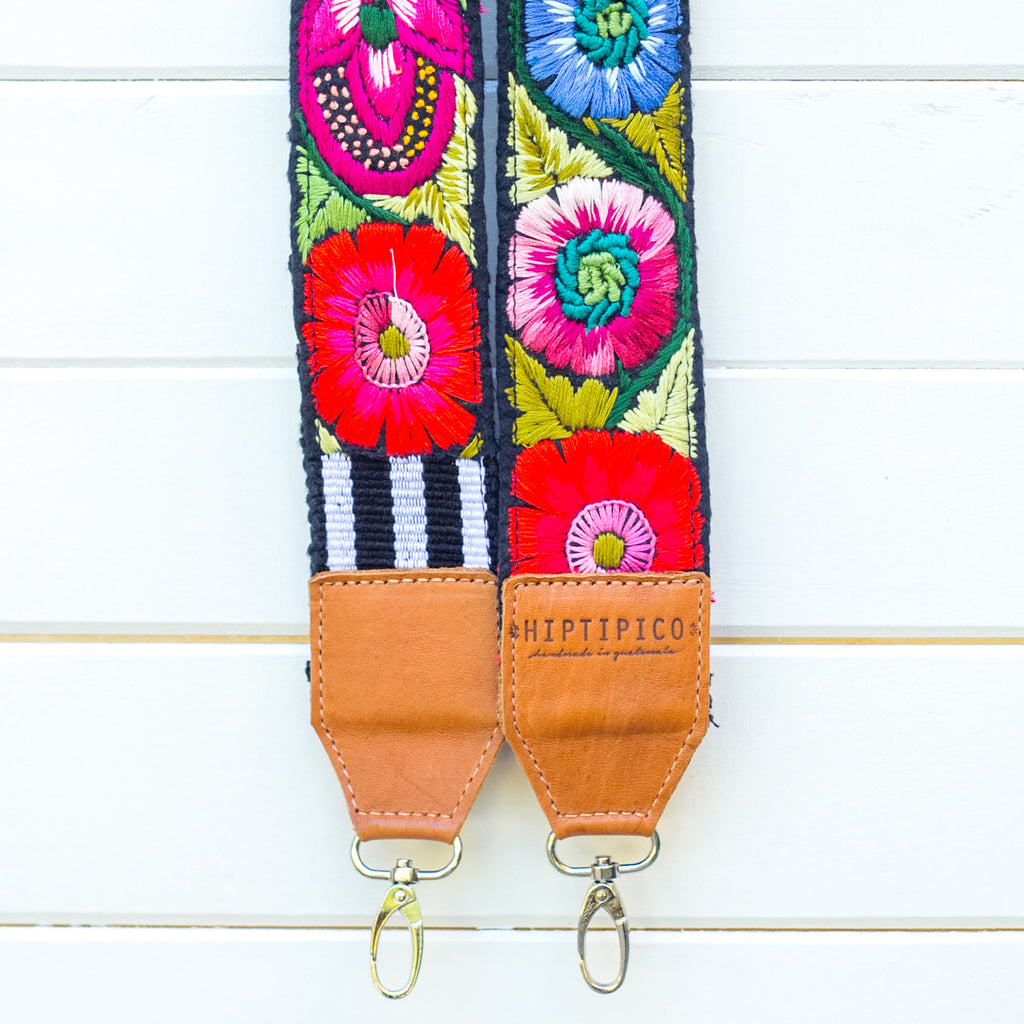 Newly Embroidered Strap - Pitaya