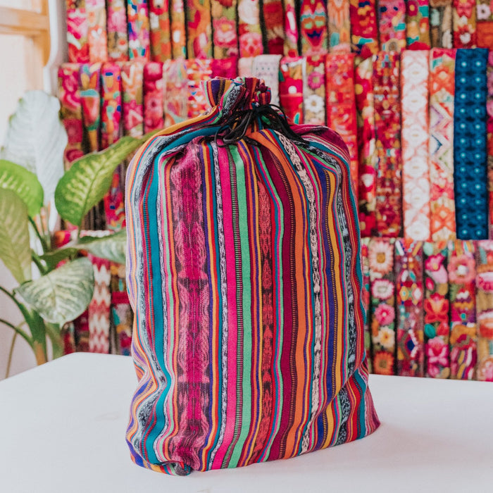 Zero Waste Dust Bag - Multi Rainbow