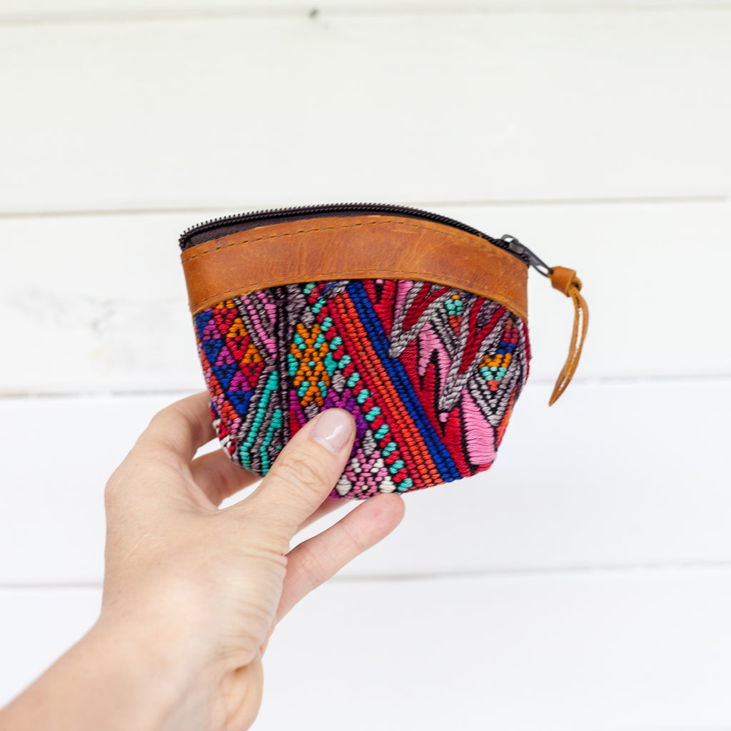 Artisanal Travel Coin Pouch - 009 Cenote