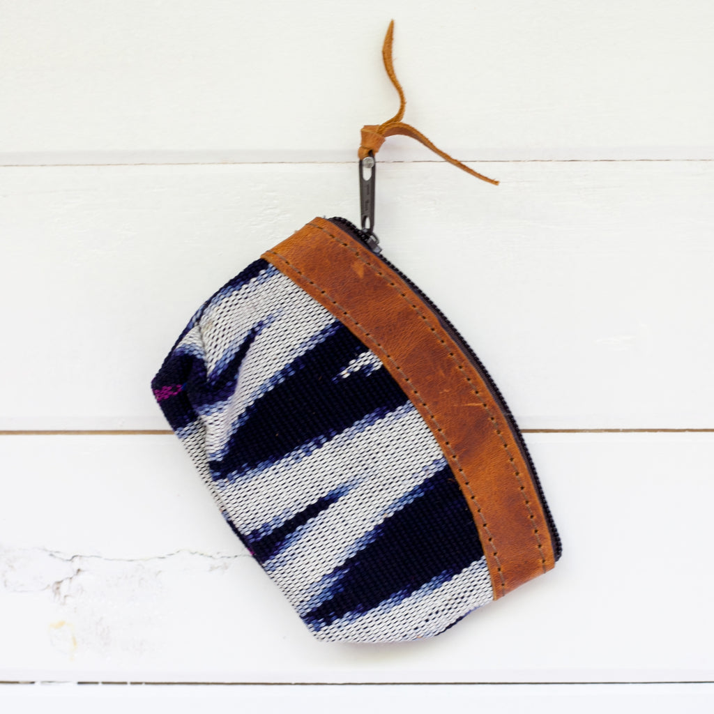 Woven Travel Coin Pouch - 011 Angel Falls