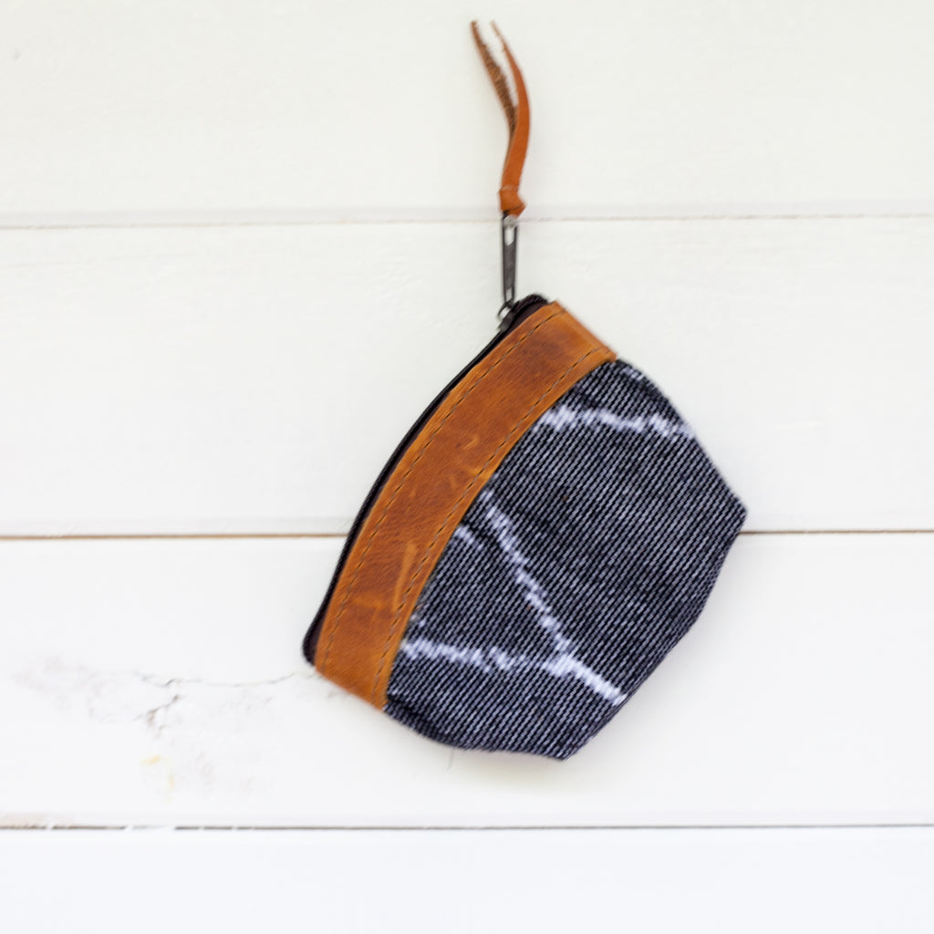 Woven Travel Coin Pouch - 012 Cabo