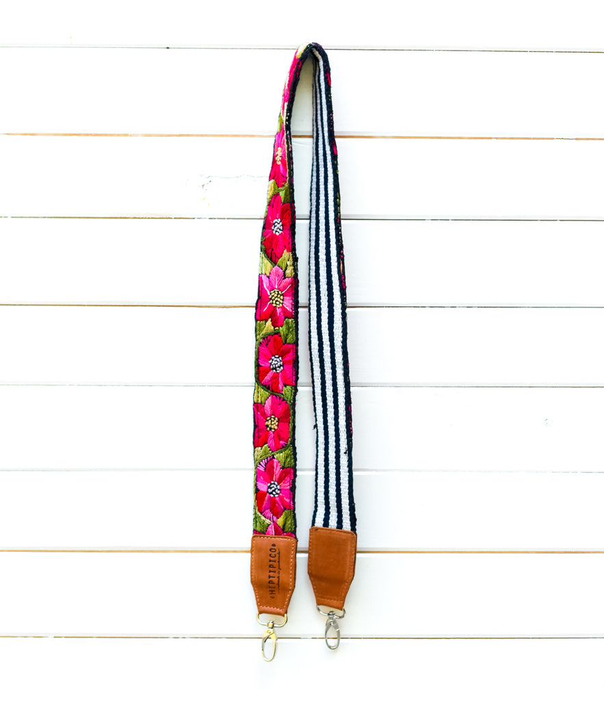 Leather Embroidered Strap - No. 972 Isle Royale