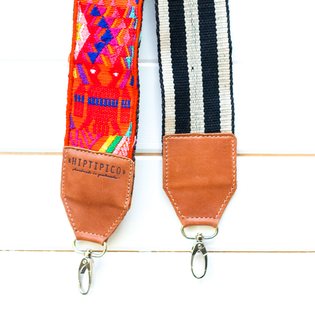 Leather Embroidered Strap - No. 979 Crater Lake