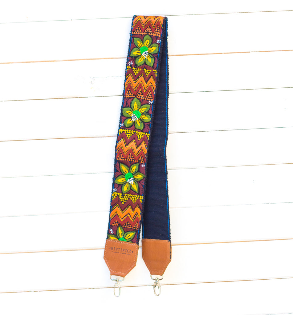 Leather Embroidered Strap - Sparkler