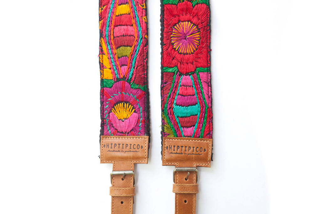 Embroidered Backpack Straps - No. 408 Unify