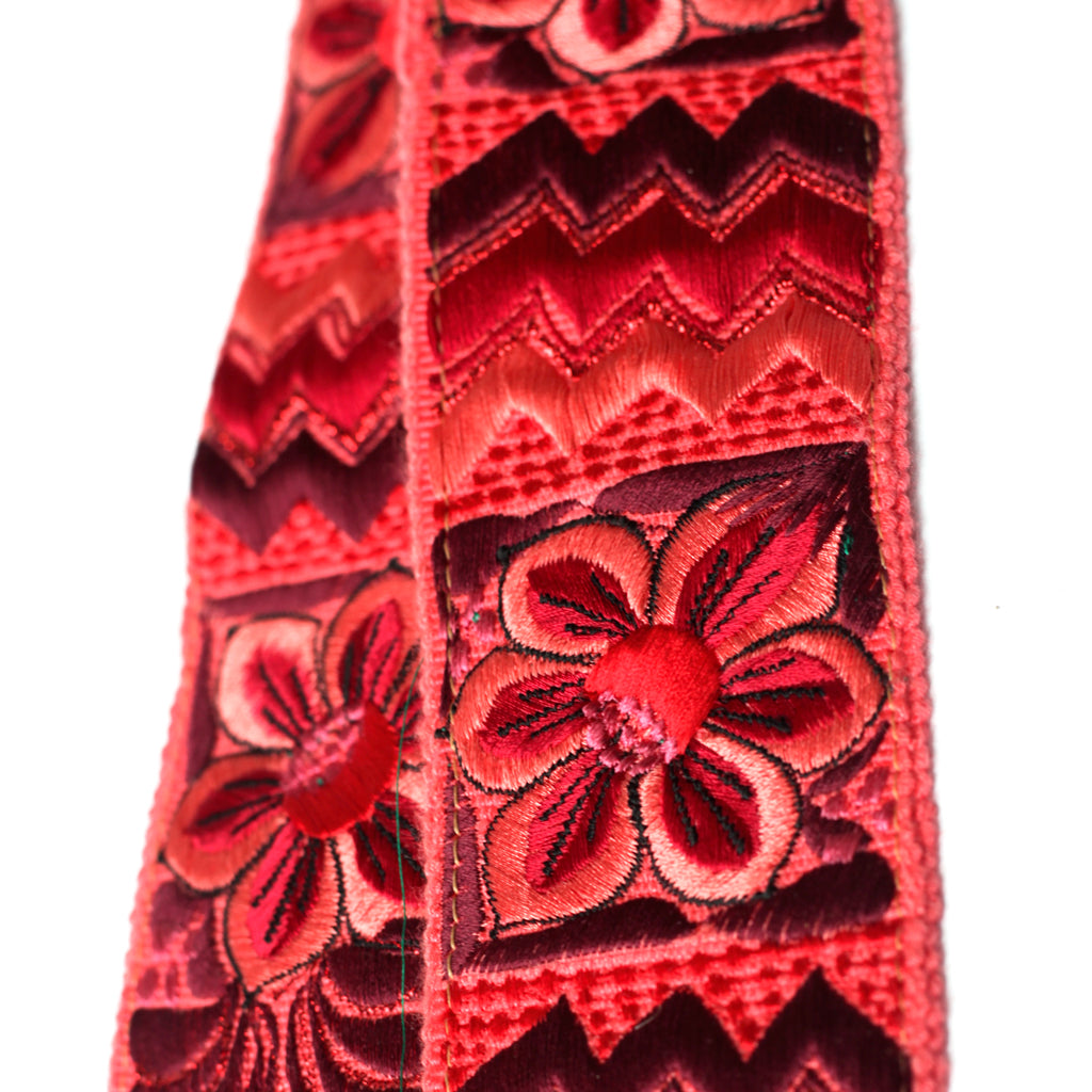 Leather Embroidered Strap - No. 425 Sandia