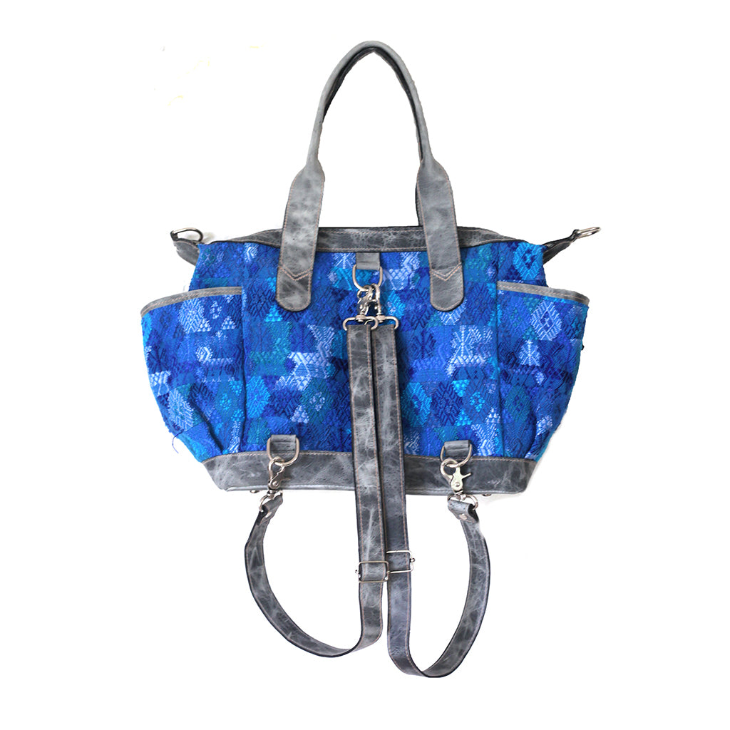 Artisanal Convertible Bag - 042 Garden Blues