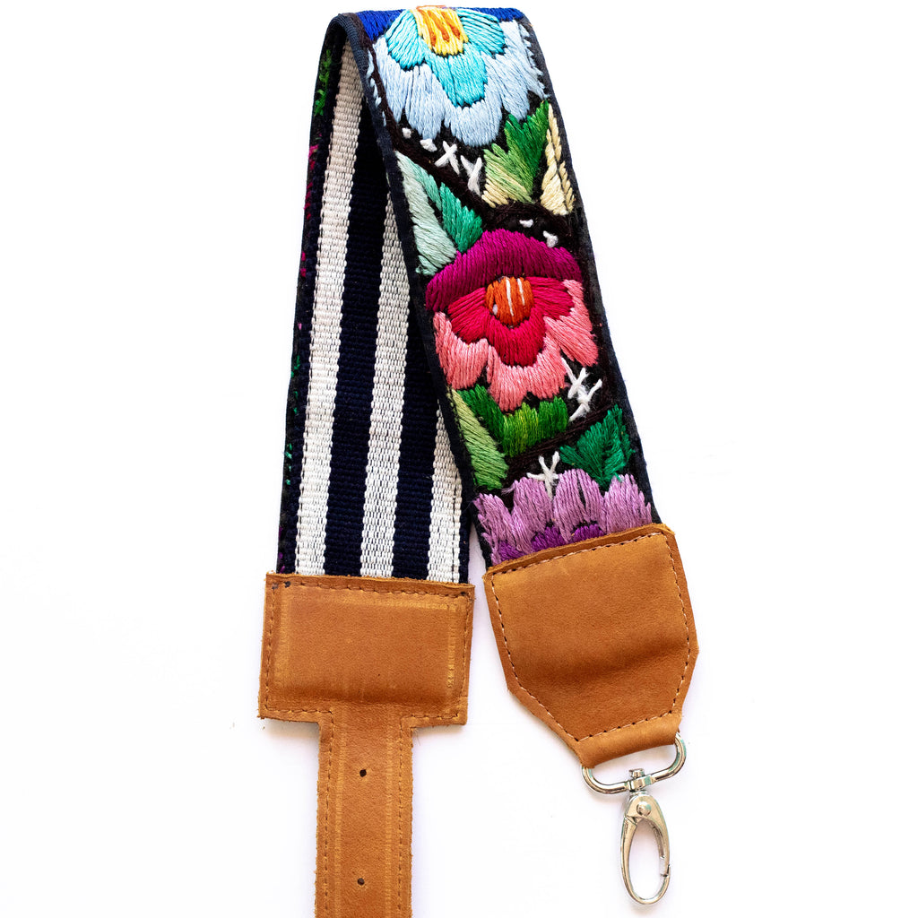 Vintage Adjustable Embroidered Strap - V0808