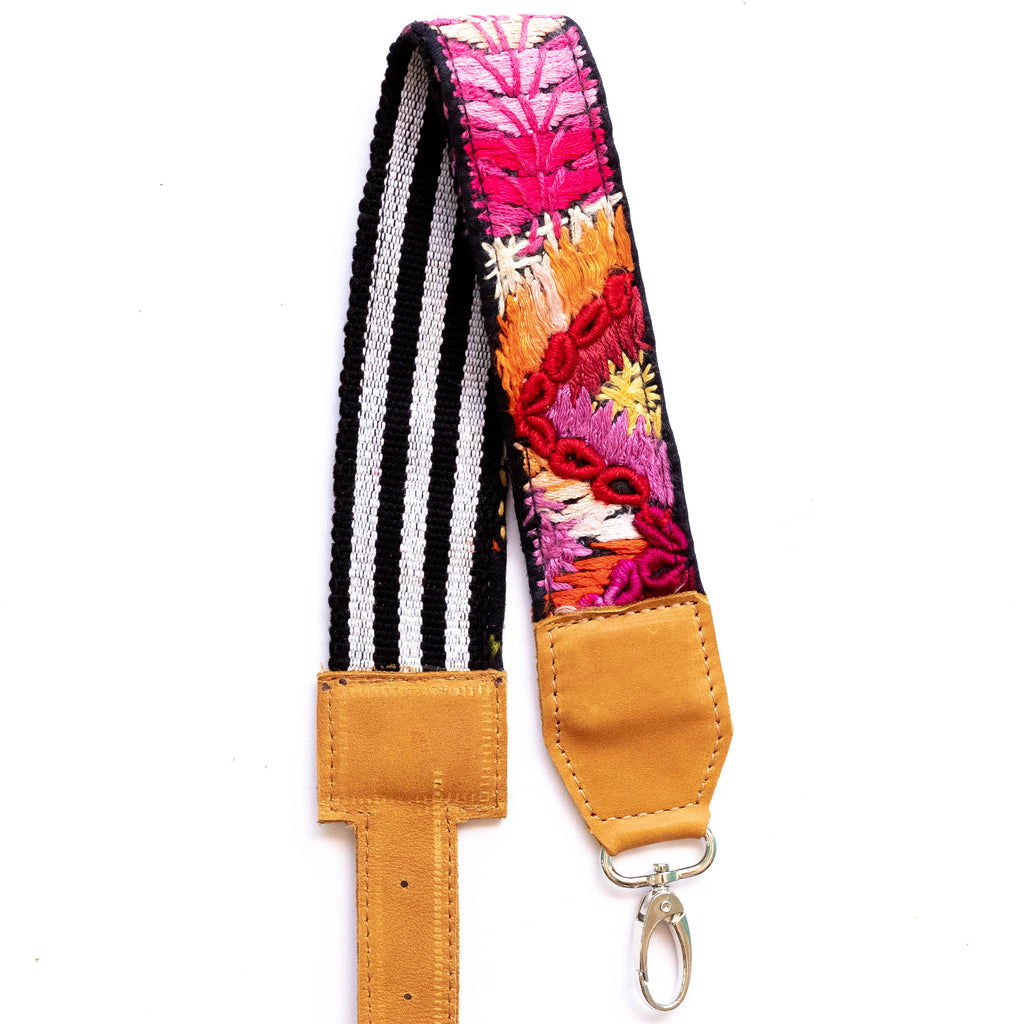 Vintage Adjustable Embroidered Strap - V0814