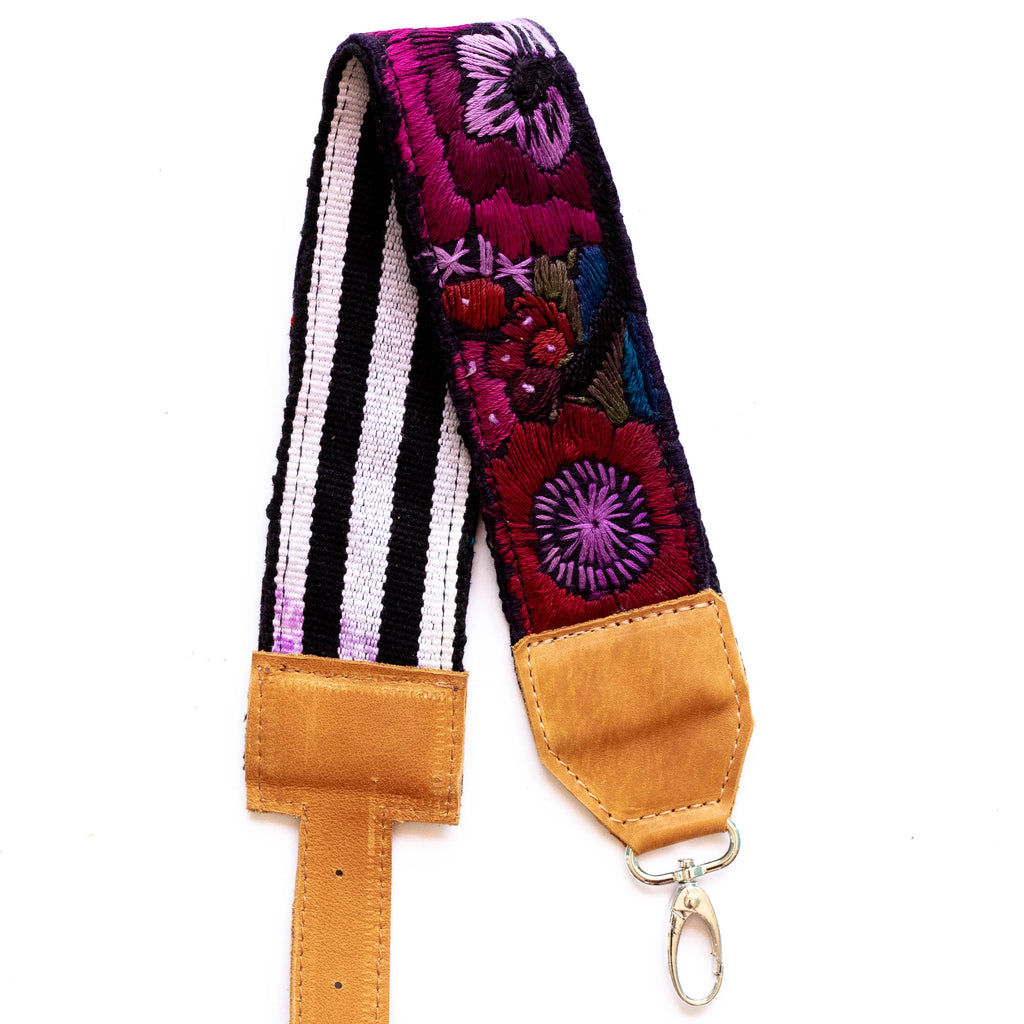 Vintage Adjustable Embroidered Strap - V0820