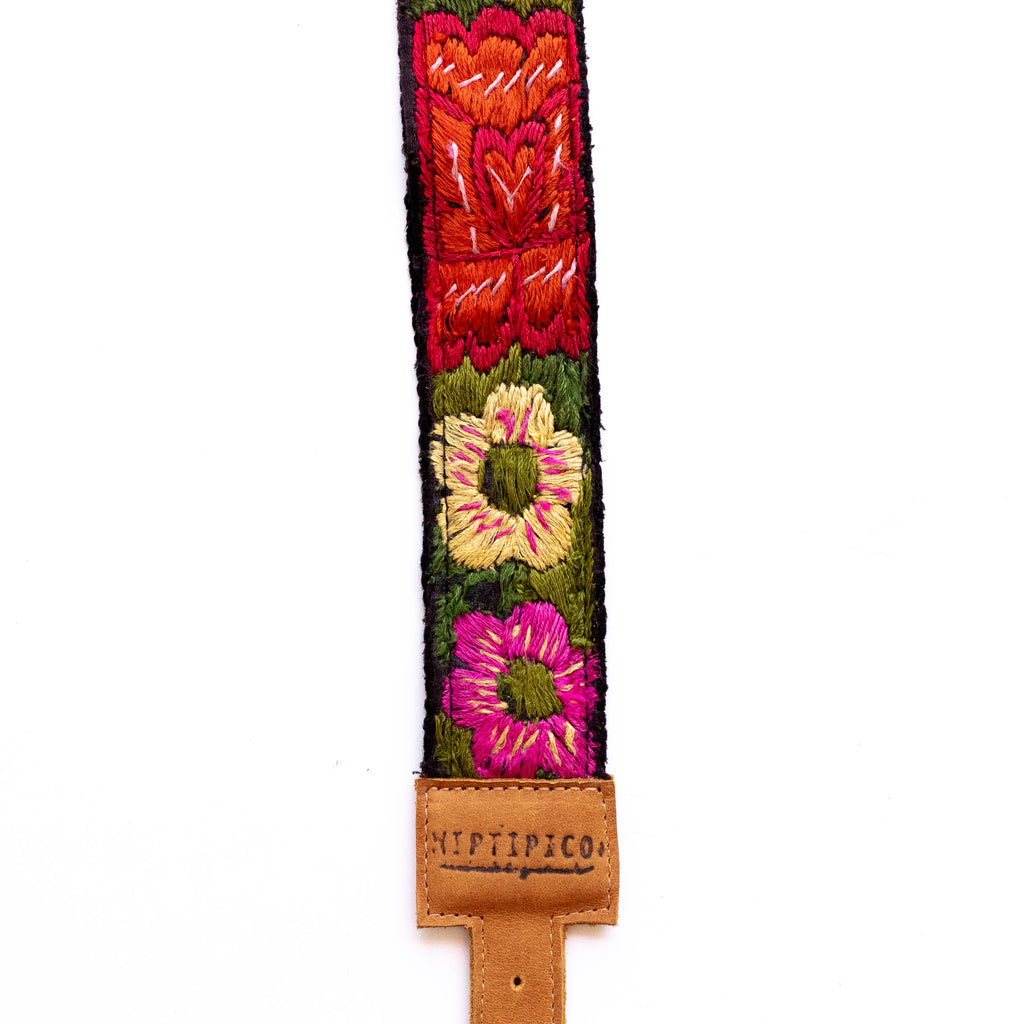 Vintage Adjustable Embroidered Strap - V0818