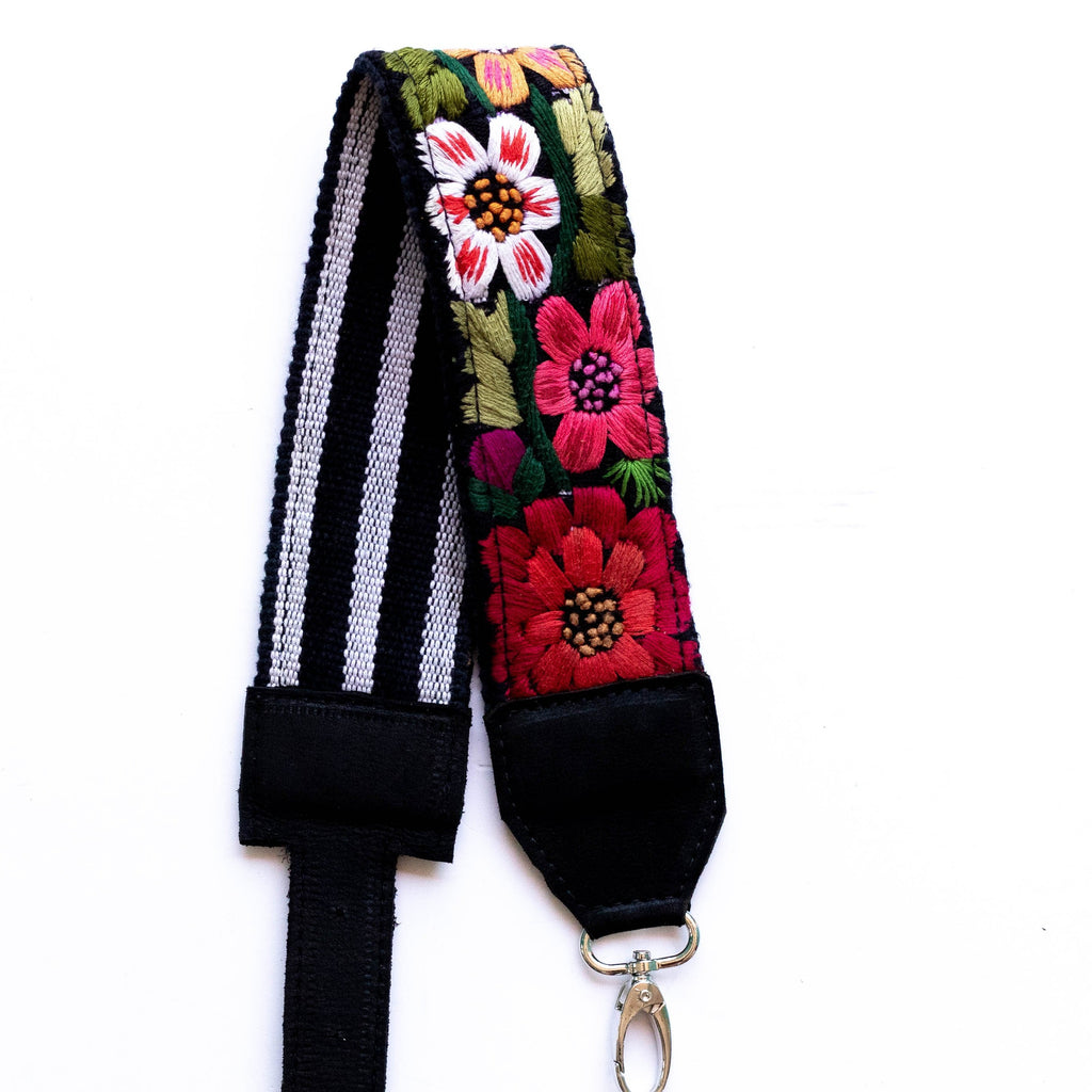 Vintage Adjustable Embroidered Strap - V0819