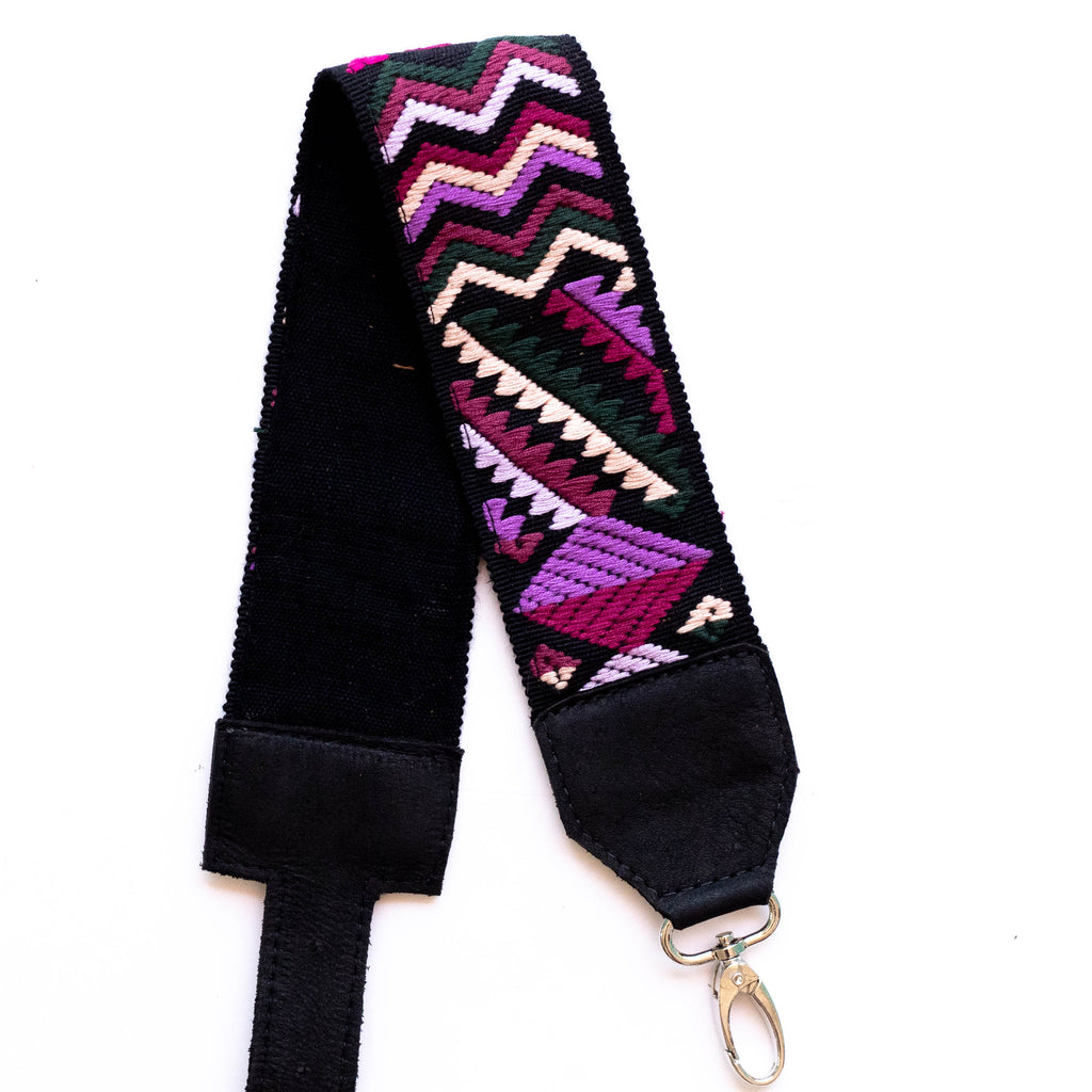 Newly Woven Adjustable Embroidered Strap - V0843