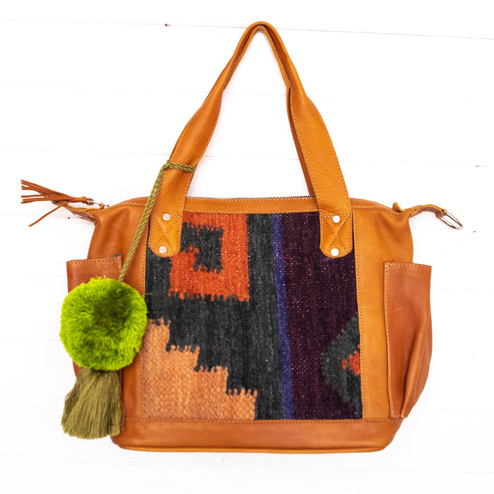 Harmony Convertible Bag Medium - Wool 02116