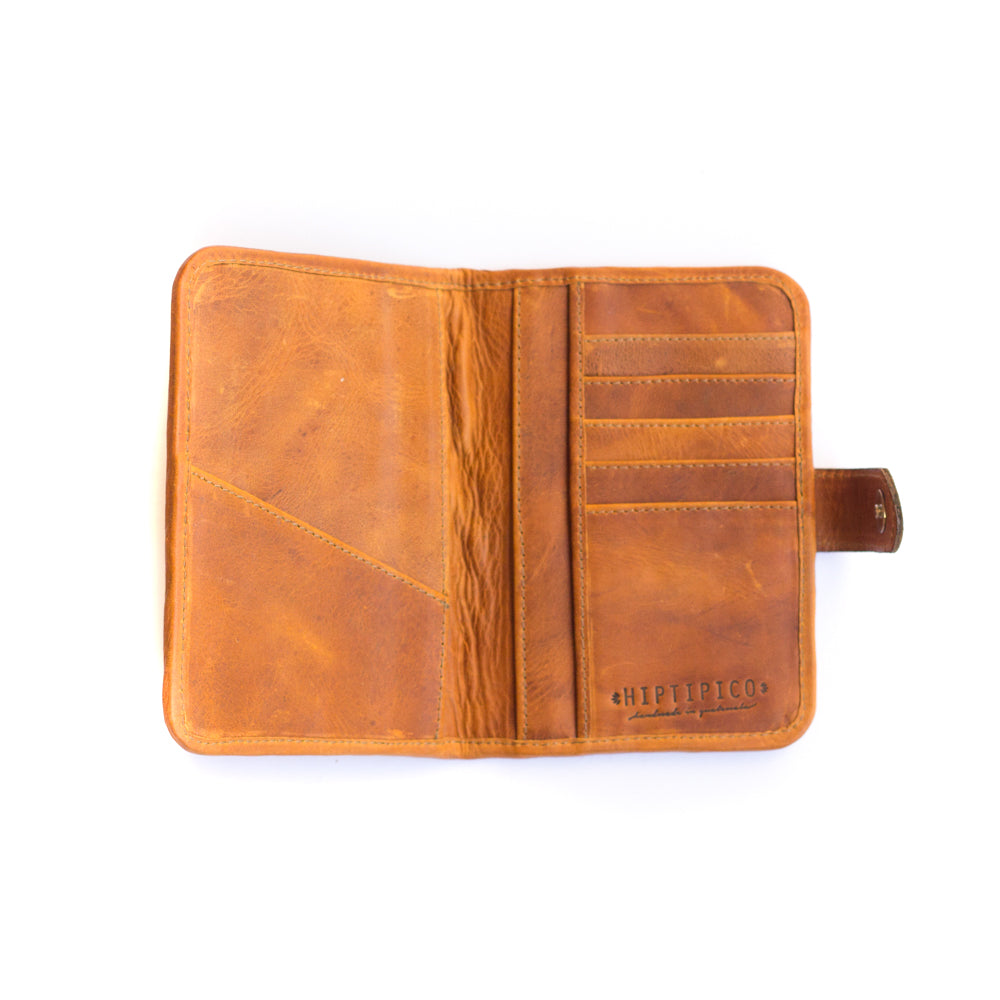 Artisanal Passport Travel Wallet - Bold