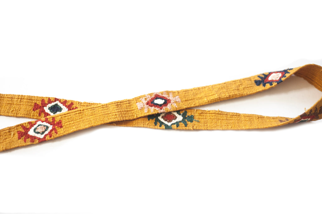Leather Woven Strap - No. 102 Tuscan Sun