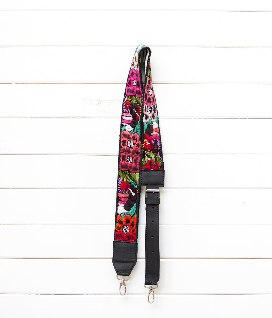 Adjustable Embroidered Strap - No. 134 Create yourself