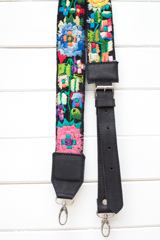 Adjustable Embroidered Strap - No. 130 Just living