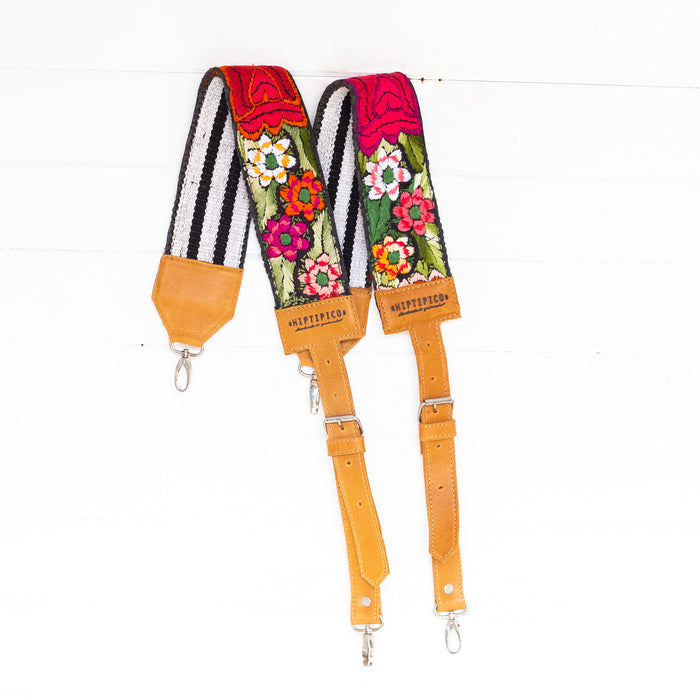 Vintage Embroidered Backpack Strap - 02510