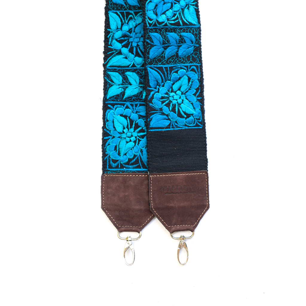 Leather Embroidered Strap - No. 472 Seis