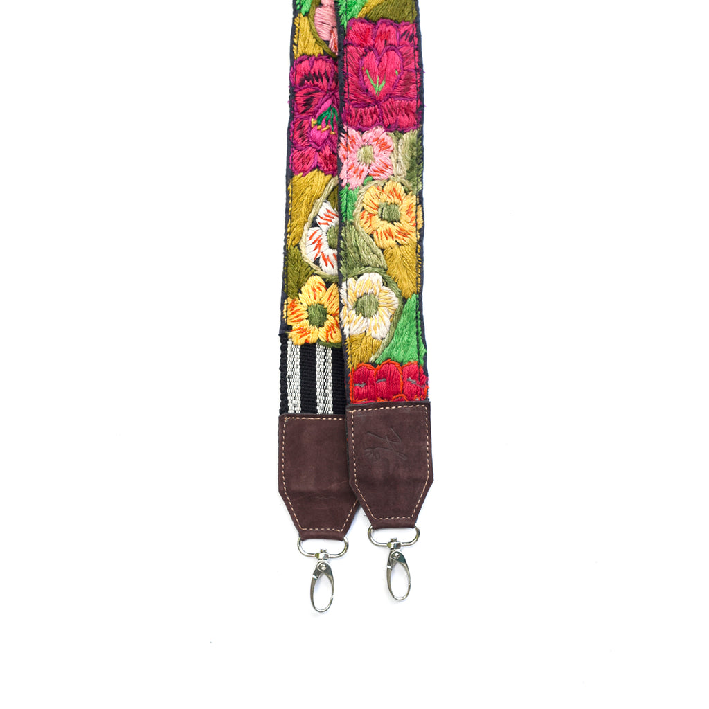 Leather Embroidered Strap - No. 482 Dieciséis